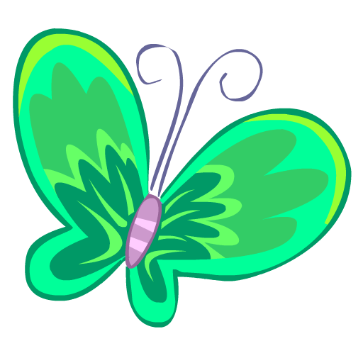 Green, Butterfly Icon Free Of Nature Icons