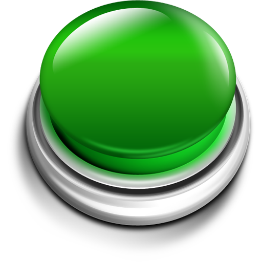 Green Push Button Icon Png