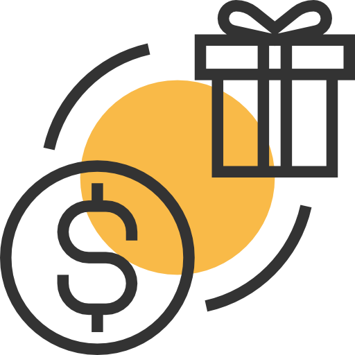 Buy, Present, Commerce And Shopping Icon
