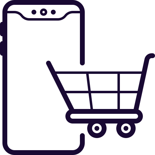 Buy, Cell, Online, Phone, Store Icon Free Of Mobile Smart Phone