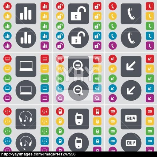 Diagram, Lock, Receiver, Laptop, Minus, Deploying Screen