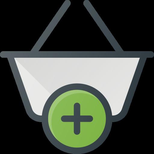 Shopping, Action, Basket, Shop, Buy, Add Icon Free Of Free Set