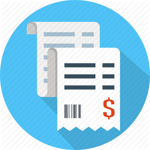 Bill, Buy, Invoice, Order, Paper, Receipt, Ticket Icon