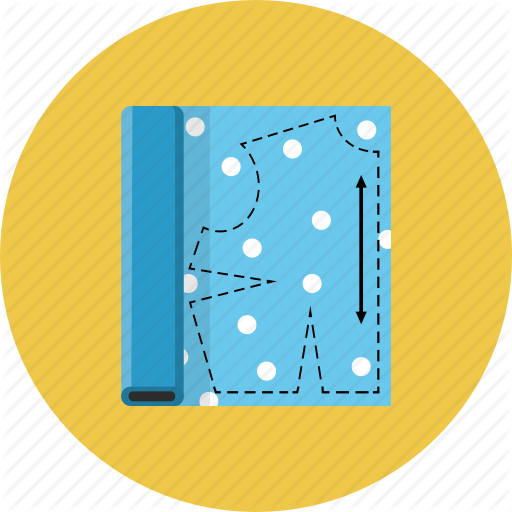 Clothing, Patterns, Textile Icon