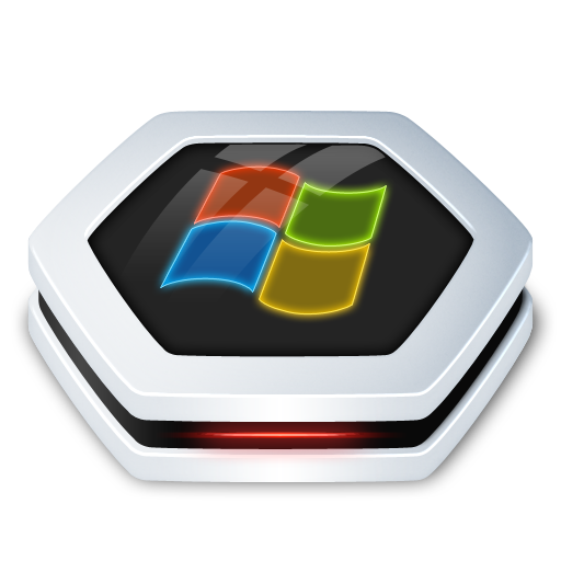 Drive Windows Icon Senary Drive Iconset Arrioch