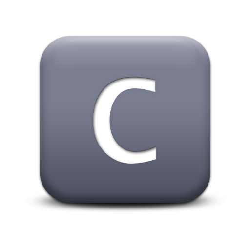Vector Letter C Icon