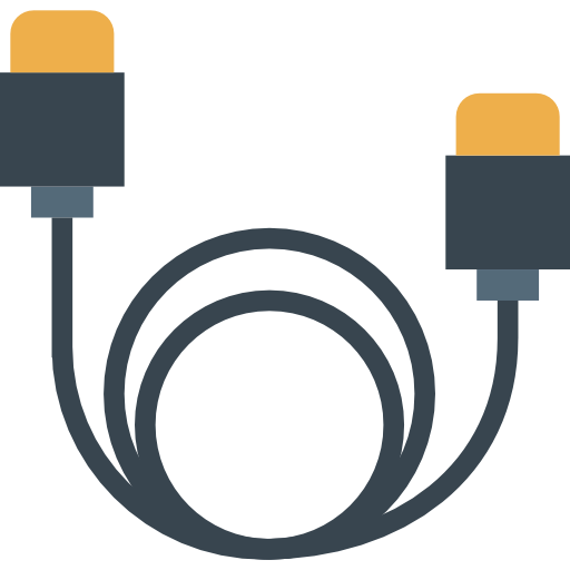 Multimedia, Hdmi, Device, Electronic, Technology, Cable Icon