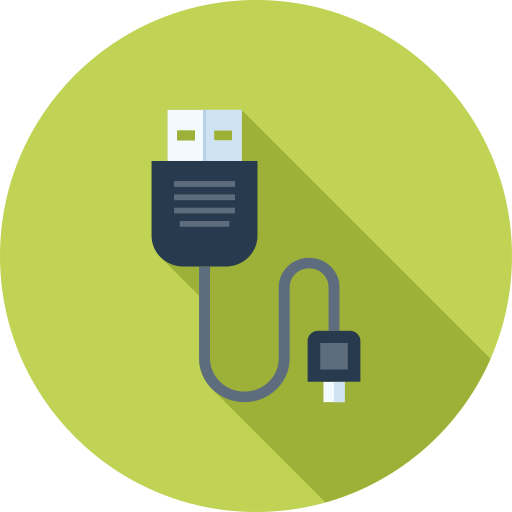 Usb, Cable Icon Free Of Technology And Hardware Icons