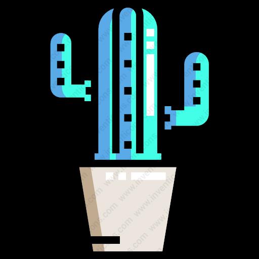 Download Pottedplants,plantbotanical,garden,ornamental,cactus Icon
