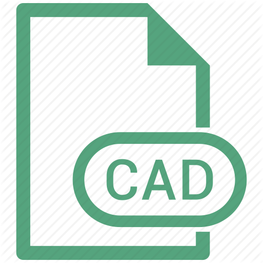 Cad, File, Extension, Format Icon