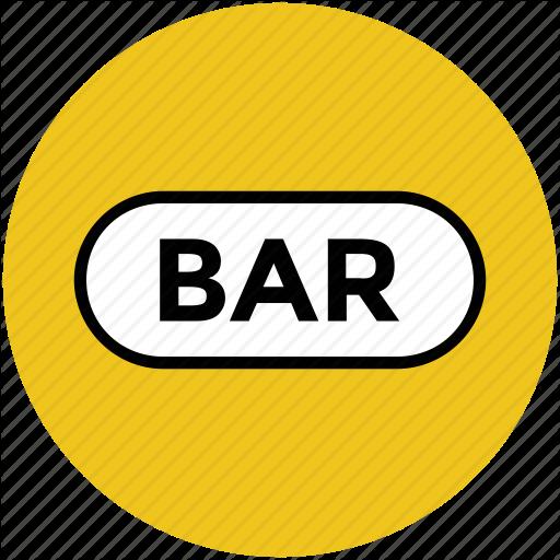 Bar, Bar Info, Bar Signboard, Beer Bar, Cafe Icon