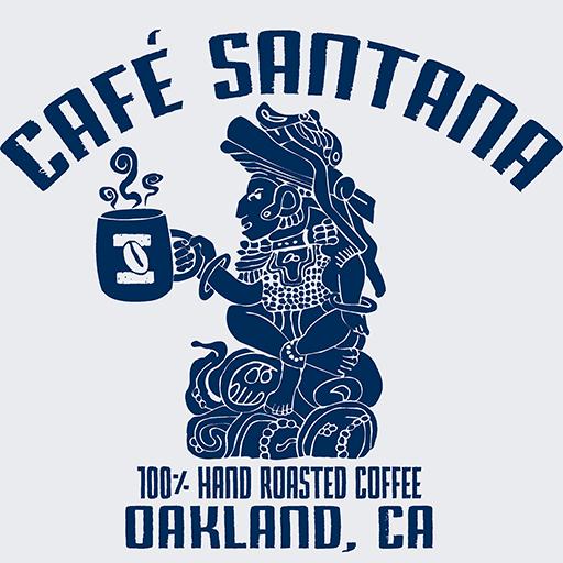 Cafe Santana Roasting Companycropped Cafe Santana Main Logo Blue