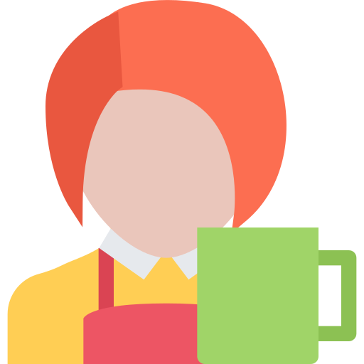 Waiter Cafe Png Icon