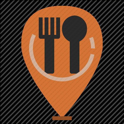 Cafeteria, Canteen, Eating, Landmark, Location, Restaurant Icon