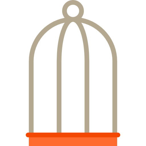 Animal, Animals, Cage, Pet, Pets, Birds, Cages Icon