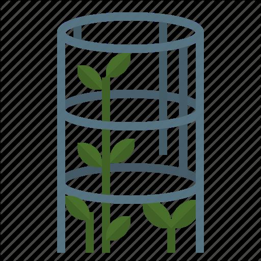 Cage, Farming, Gardening, Plant, Veticalgarden Icon
