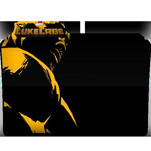 Luke Cage Tv Series Folder Icon