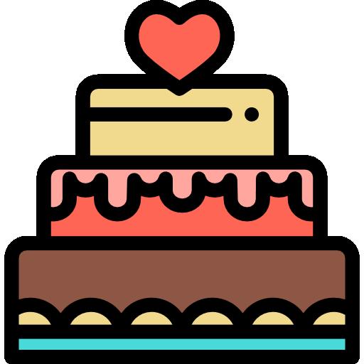 Cake Icon Desserts And Candies Color Freepik