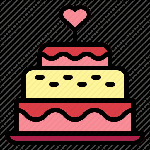 Bakery, Birthday Cake, Cake, Candles, Wedding, Wedding Cake Icon