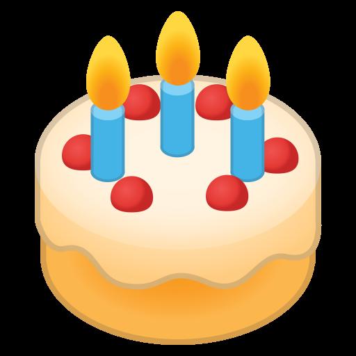 Birthday Cake Icon Noto Emoji Food Drink Iconset Google