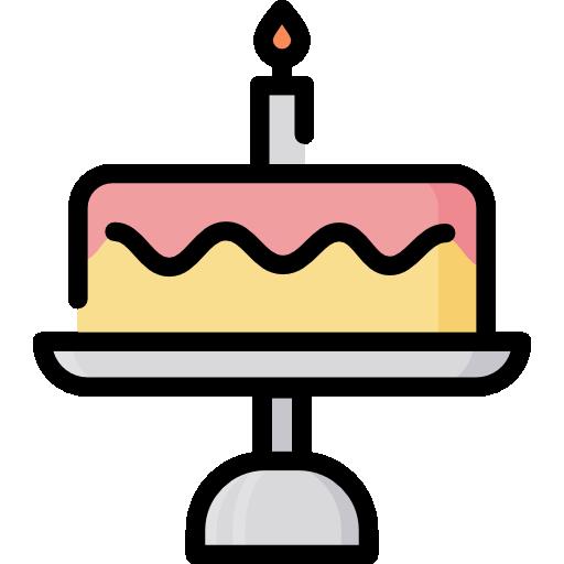 Birthday Cake Free Vector Icons Designed