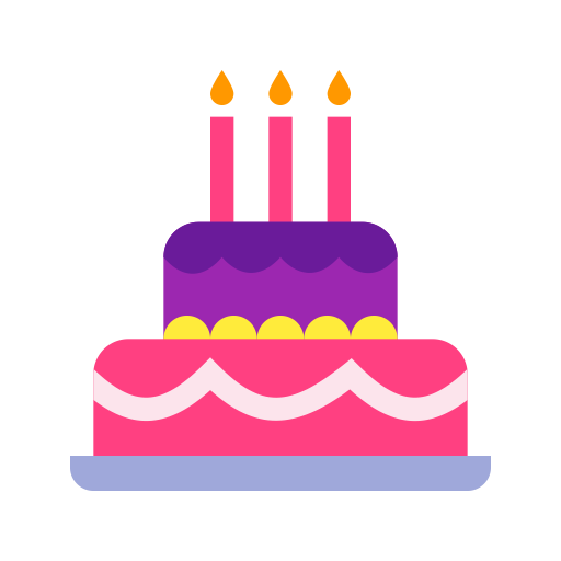 Cake, Multicolor, Lovely Icon With Png And Vector Format For Free