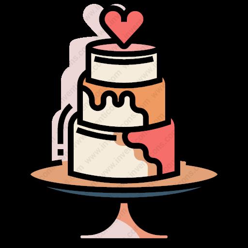 Download Wedding,cake Icon Inventicons