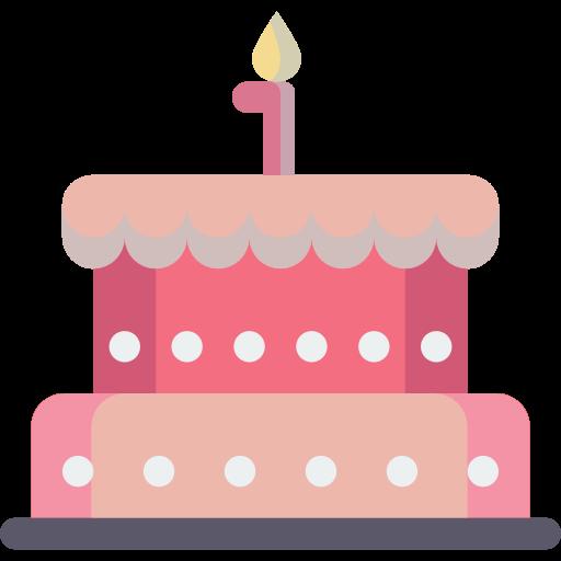Cake, Bakery, Birthday, Celebration, Dessert, Food, Birthday Cake Icon
