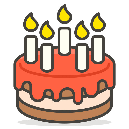 Birthday, Cake Icon Free Of Free Vector Emoji
