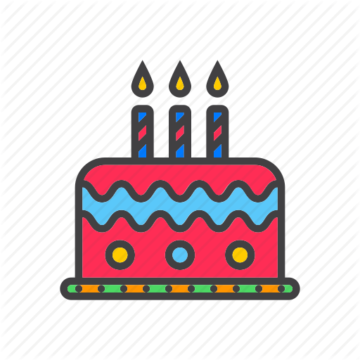 Birthday Cake Icon Png Images In Collection