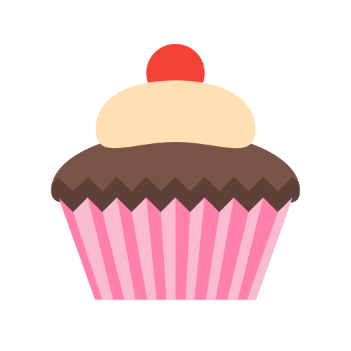 Cupcake, Dessert, Fairy Cake Icon With Png And Vector Format