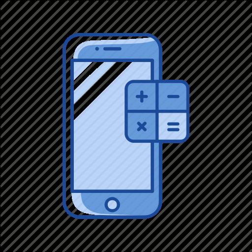 Calculator, Mobile App, Mobile Calculator, Phone Icon
