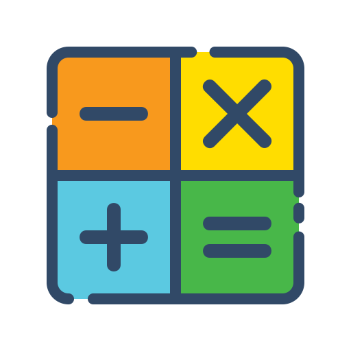 Calculator Icon Free Of Shopping Filled Line Icons