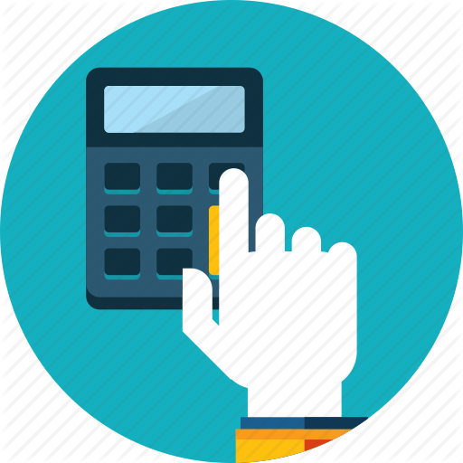 Account, Bill, Calculation, Calculator, Hand, People Icon