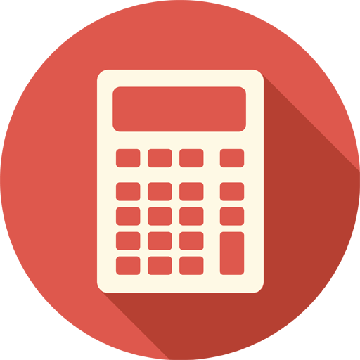 Calculator Icon Long Shadow Media Iconset Pelfusion