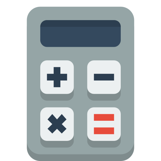Calculator Icon Small Flat Iconset Paomedia