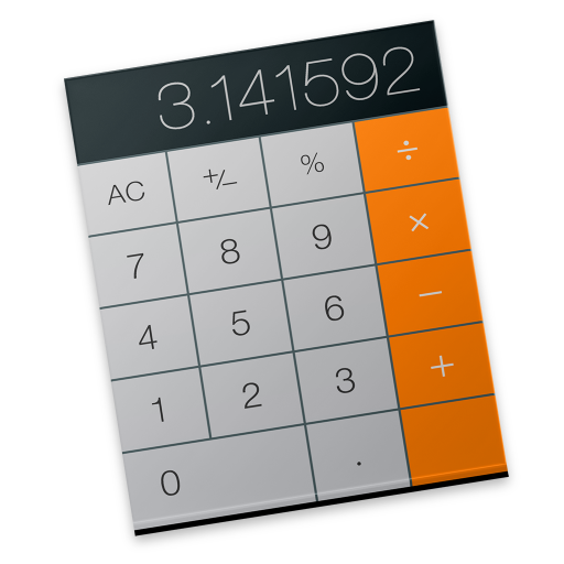 Calculator Icon Free Of Os X Yosemite Preview Icons