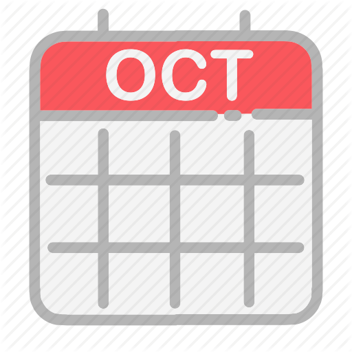 Calendar, Date, Dates, Month, Numbers, October, Ui Icon