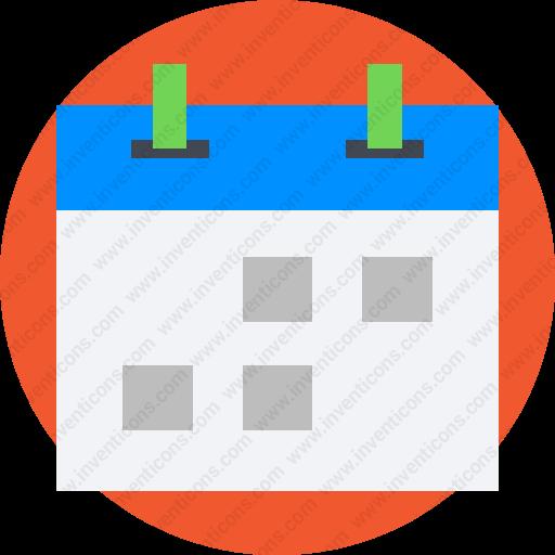 Download Calendar,date,period,schedule,deadline Icon Inventicons