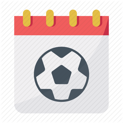 Calendar, Date, Football, Match Day, Soccer Icon