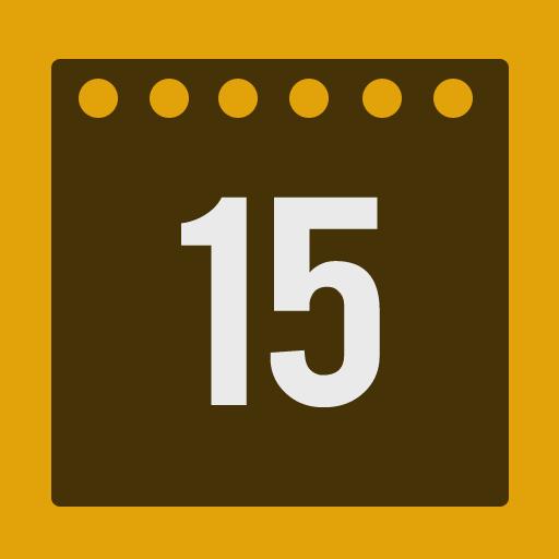 Calendar, Flat Icon