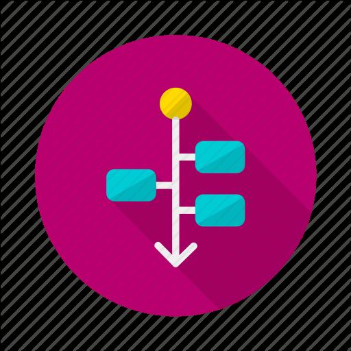 Flat Icon Diagram