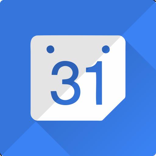 Social Media Calendar Flat Icon