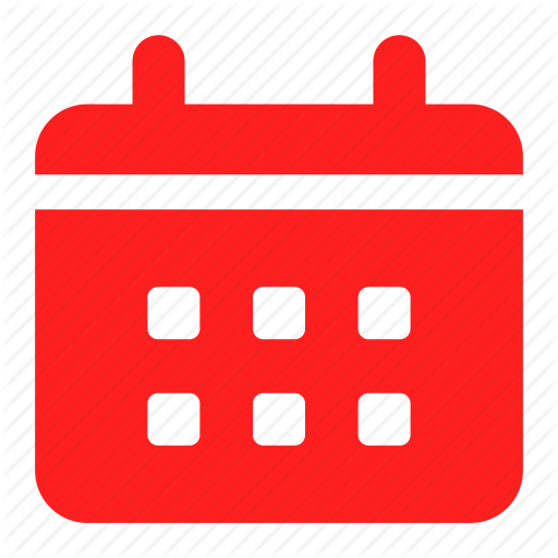Calendar, Date, Event, Red, Reminder Icon