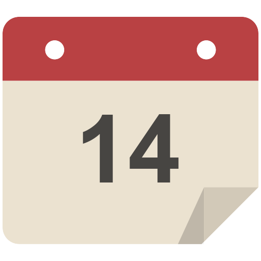 Calendar Icon Flat Retro Modern Iconset Grafikartes