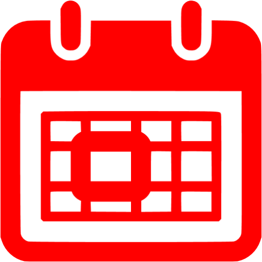 Red Tear Of Calendar Icon