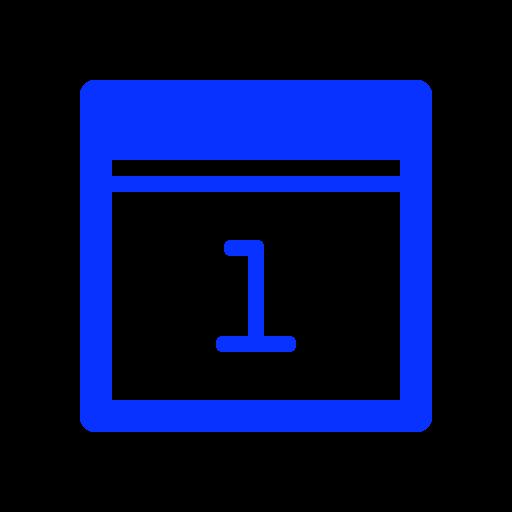 Period, Timetable, Month, Day, Plan, Calendar Icon