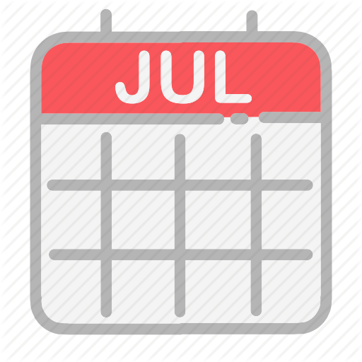 Calendar, Date, Dates, July, Month, Numbers, Ui Icon