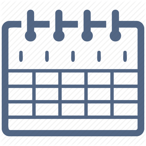 Calendar, Education, Event, School Schedule Icon