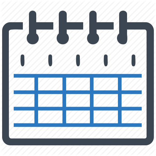Calendar, Education, School Schedule Icon